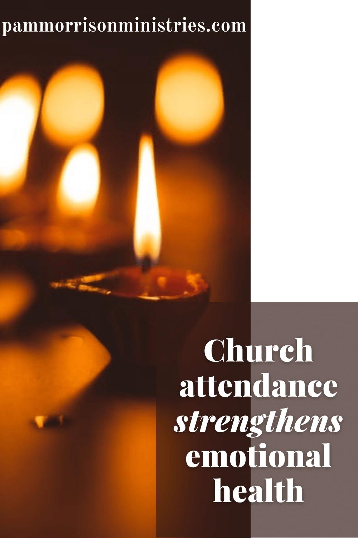 church attendance strengthens emotional health