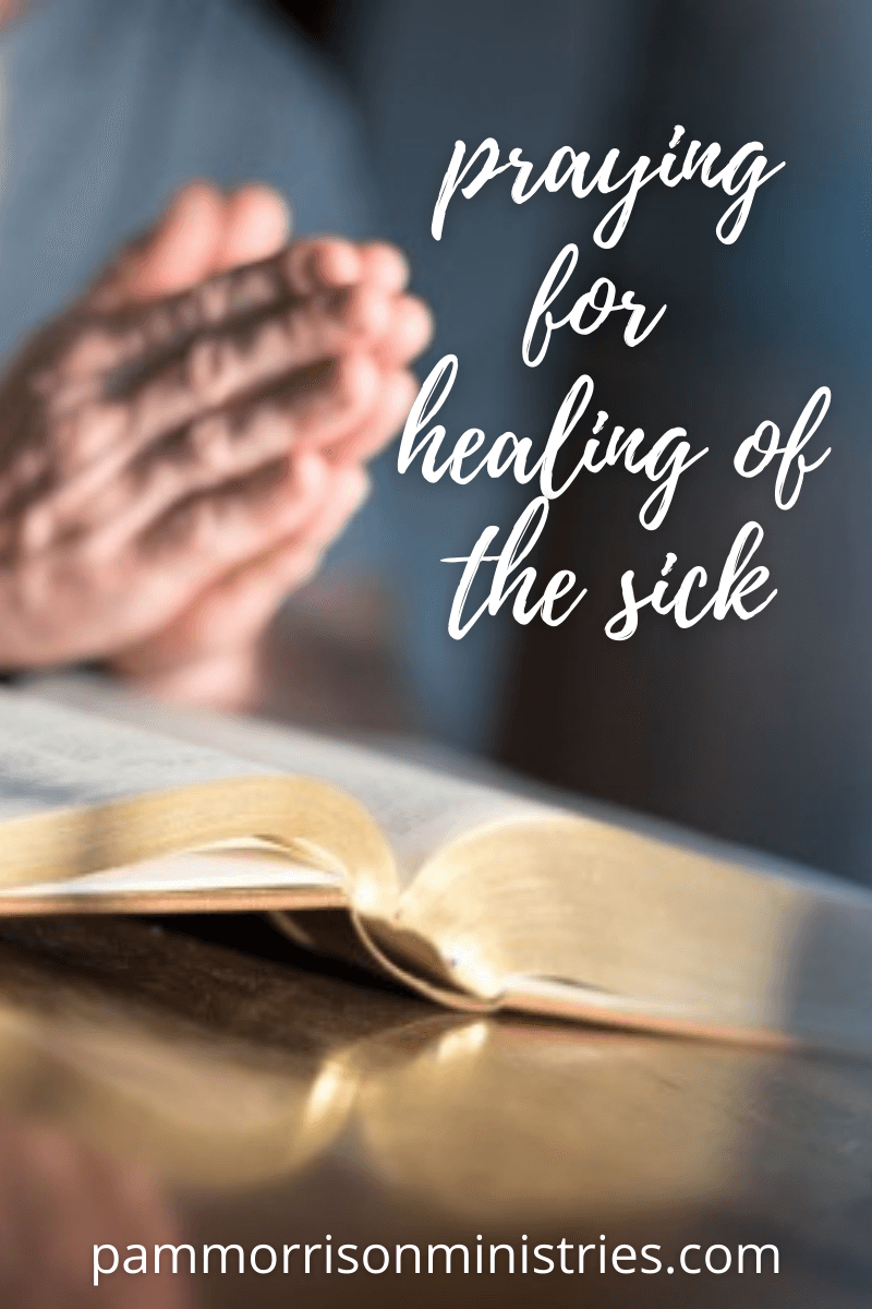 praying for healing