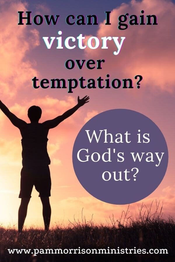 victory over temptation bible verse